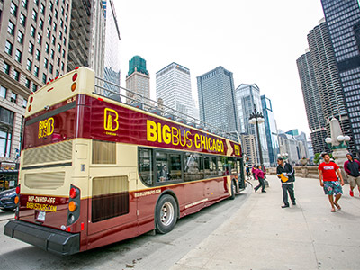 Hop-On Hop-Off Big Bus Chicago: 1-Day Classic Tour