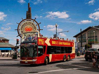 Hop On Hop Off Big Bus San Francisco: 1-day Classic Tour