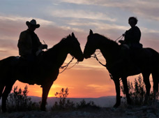 Deluxe Nighttime Horseback Riding Tour