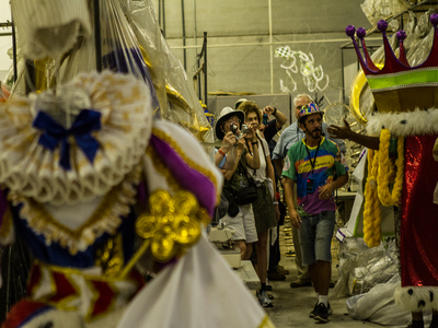 Carnaval Experience - Between the Backstage of Carnival  Tour