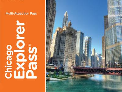 Chicago Explorer Pass: Pass with Entrance to 3, 4, or 5 Attractions