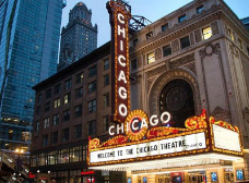 Tour The Chicago Theatre Marquee
