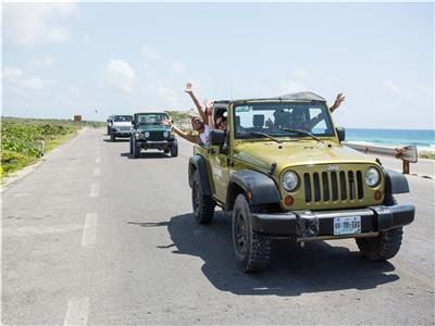 Cozumel Adventure in Jeep Tour