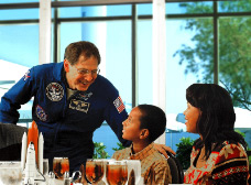Dine with an Astronaut at the Kennedy Space Center Tour