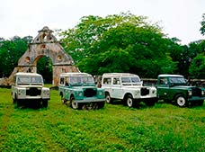 Vintage Land Rover Expedition
