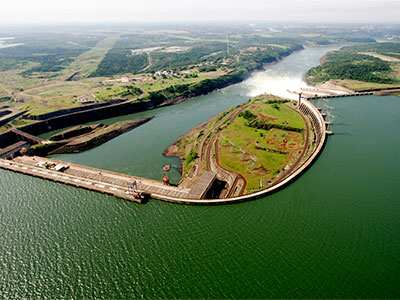 Panoramic Tour of the Itaipu Dam