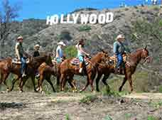 Horseback Tour near the Hollywood Sign