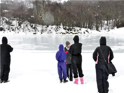 Frozen Lagoon Walking Tour