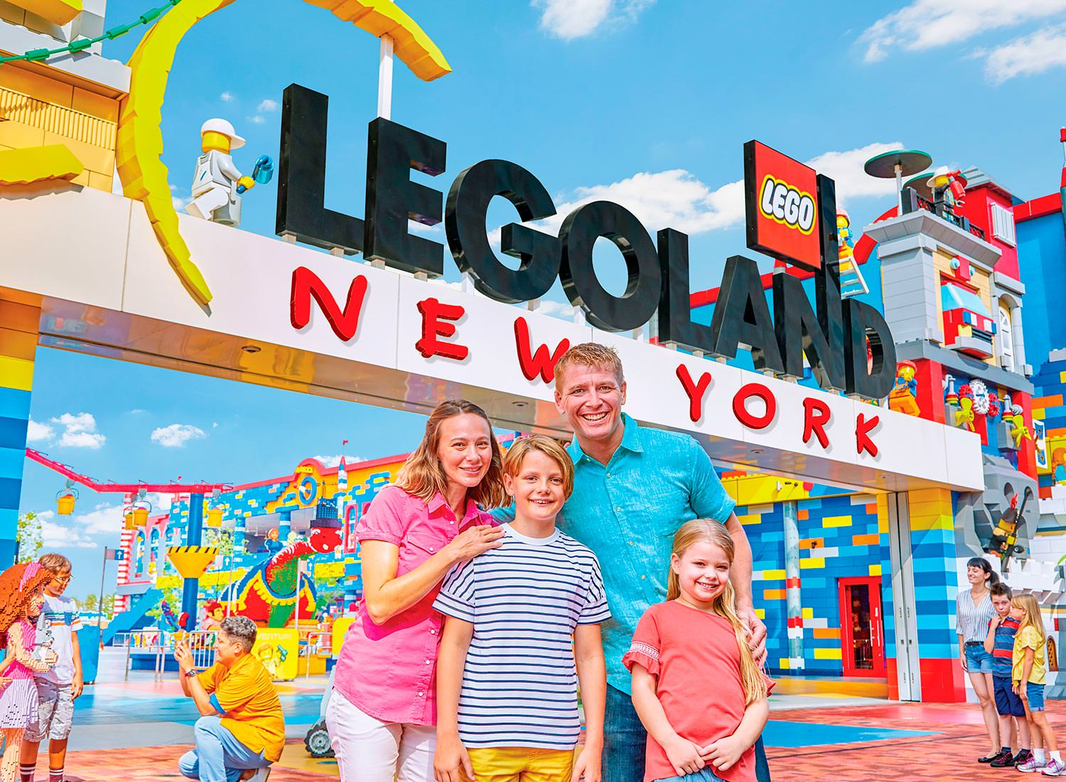 LEGOLAND New York Opening July 4th