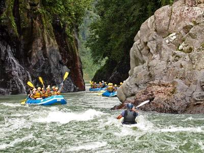 White Water Rafting Tour
