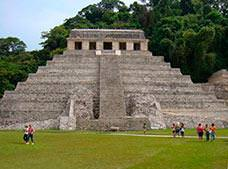 Palenque Archeological Site | Misol-Ha Waterfall Tour