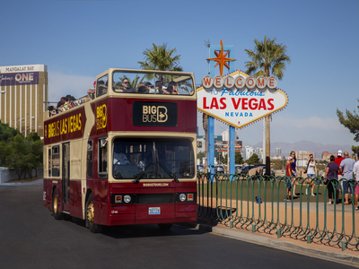 Big Bus Las Vegas - Panoramic Night Tour | Promotion 10% Off!