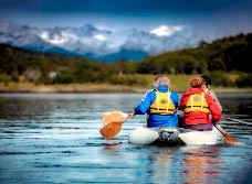 National Park with Trekking and Canoes Tour