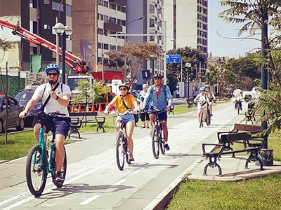 Bicycle Excursion Miraflores and Barranco Tour