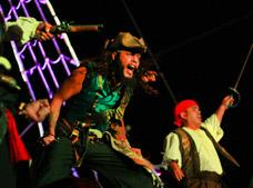 Jolly Roger Pirate  Dinner Show Tour