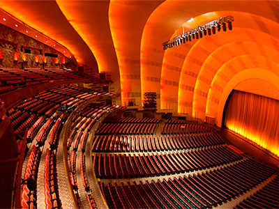 Tour Tras Bambalinas en el Teatro Radio City Music Hall