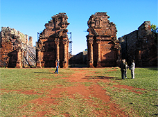 San Ignacio and Wanda Ruins Tour