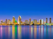 Tour San Diego City Lights Night