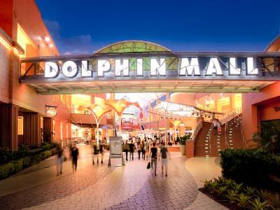 Dolphin Mall, International or Walmart Shopping Tour