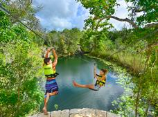 Xenotes Tour | Explore 4 Incredible Sinkholes in 1 Day