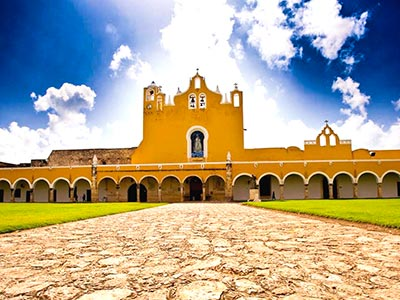 Magic Towns, Valladolid, Swim in a Cenote and Izamal Tour