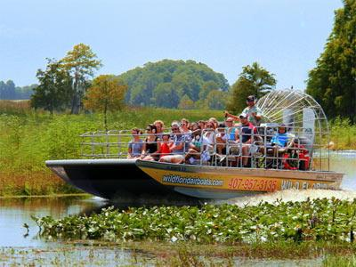 Wild Florida Airboats and Wildlife Park Tour