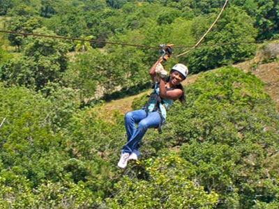 Tour Zip Lines y Monkey Jungle